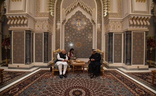India, Oman sign eight agreements as PM Modi meets Sultan Qaboos (Source: Twitter)