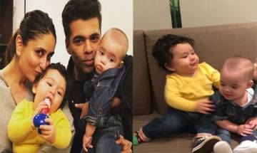 Taimur Ali Khan-Yash Johar are FUTURE musicians, KJo shares snap and you can't miss it (see pics)