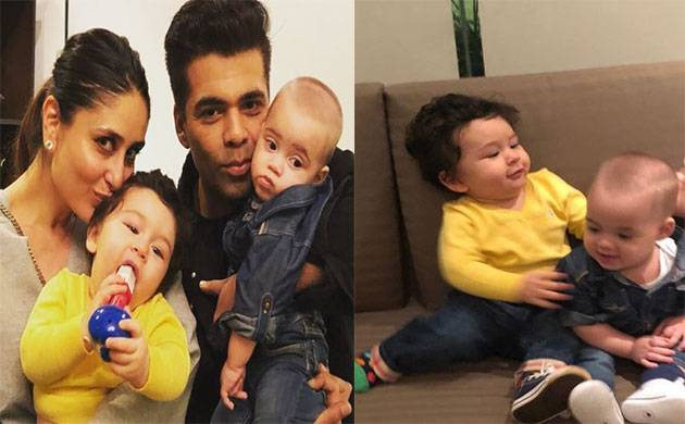 KJo shares snap of Taimur-Yash and it's too CUTE to be missed (Source- Karan Johar's Instagram)