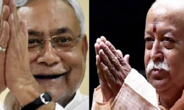 RSS Chief's Army remark | If someone is eager to defend borders is it a matter of controversy? Asks Nitish Kumar