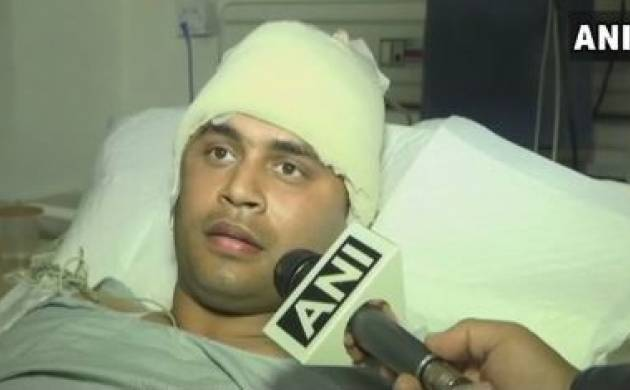 Sunjuwan attack : Indian Army major asks about militants on gaining conscious in hospital bed (Source: ANI)