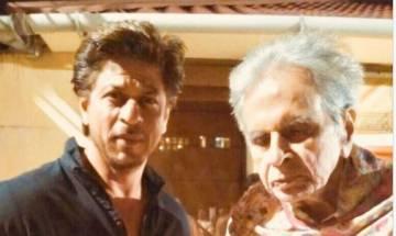 Dilip Kumar's 'Mooh-bola Beta' SRK visits the veteran actor