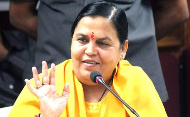 Uma Bharti to take 3 years leave from politics to rejuvenate health, will not contest elections (File Photo)