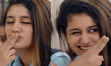 Winking girl Priya Prakash Varrier Smells Like Teen Spirit