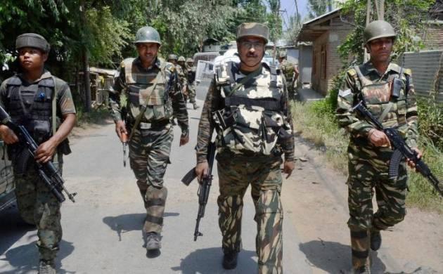 Terrorists fire at CRPF camp in Awantipora, security forces retaliate (Source: PTI)