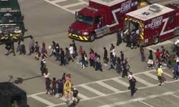Florida School Shooting: 17 dead, over 20 injured after expelled student opens fire