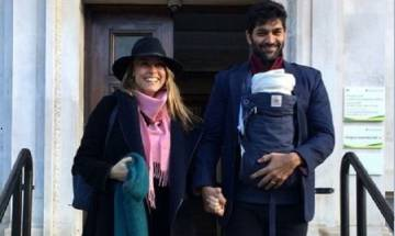 Purab Kohli ties knot with longtime girlfriend Lucy Paton; Daughter Inaaya holds flower as parents take wedding vows in Goa (see pics)
