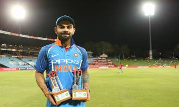 Indian skipper Virat Kohli CREATES five new records in the ODI series against Proteas