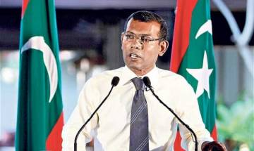 Don't want any trouble between India and China, says ex-Maldives President Nasheed