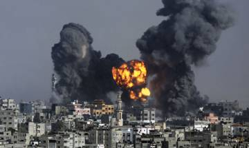 Two Palestinians killed after Israel strikes Gaza
