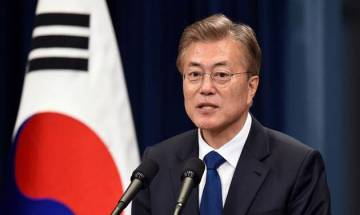 South Korea's Moon Jae-in urges stern response to new US tariffs