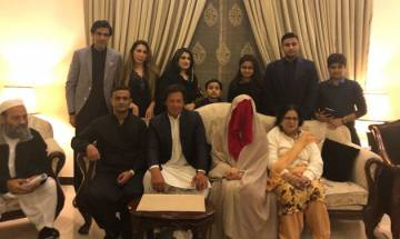 Imran Khan scores hat-trick, ties knot for third time with Bushra Maneka