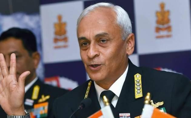 Navy Chief Admiral Sunil Lanba - File Photo