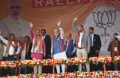 PM Modi in Meghalaya Highlights | CM is a doctor but women here are forced to deliver babies at home