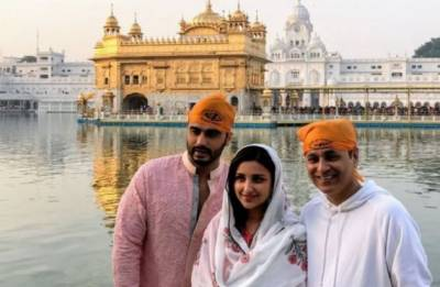 Arjun Kapoor, Parineeti Chopra start shooting for Namastey England in Amritsar, seek blessings at Golden Temple