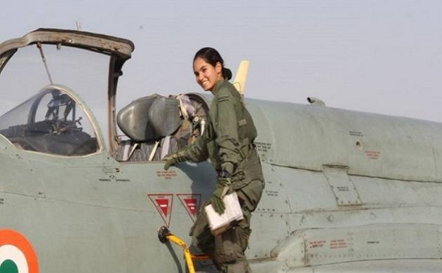 Indian Air Force's flying officer Avani Chaturvedi - File Photo