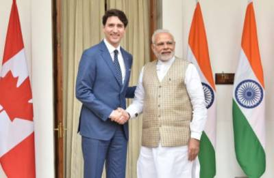 Justin Trudeau in Delhi Live: India, Canada sign six pacts, energy cooperation between nations major take away