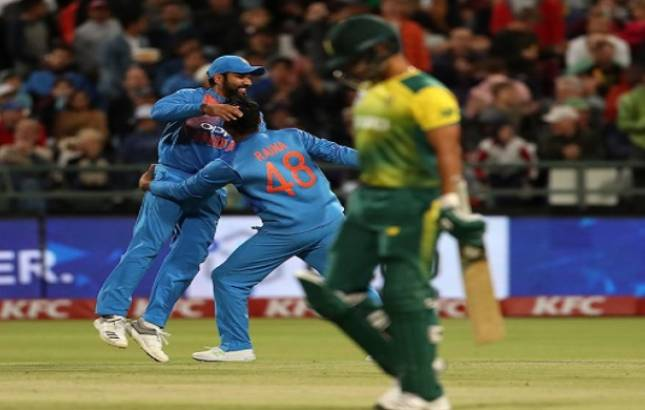 Team India eyes to clinch series against the host(Source - Twitter BCCI)