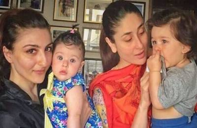 Taimur-Inaaya's picture together is simply AWWDORABLE and will make your day (see pics)