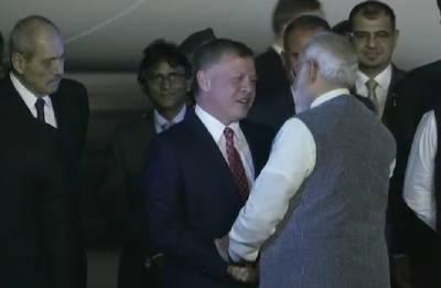 Jordan King Abdullah II reaches India, will address on Islamic heritage