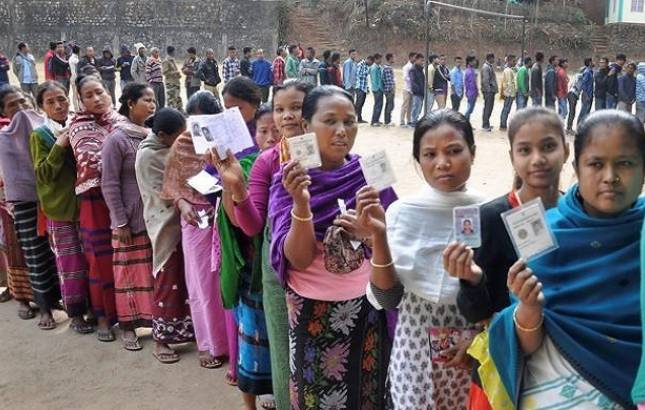 Assembly Elections 2018 : 75 per cent polling in Nagaland, 67 in Meghalaya (Source: PTI)