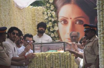 She went away too soon: Kapoor, Marwah, Ayyappan family issue joint statement post Sridevi's funeral