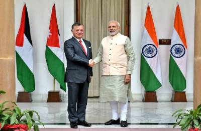 India, Jordan renew support for Palestine; Ink 12 pacts