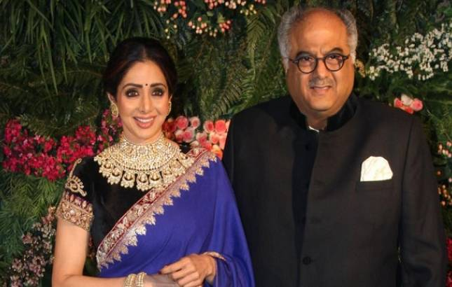 Boney Kapoor's last message for Sridevi will leave you emotional! (File Photo)