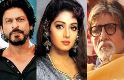 RIP Sridevi: Amitabh Bachchan and Shah Rukh Khan post HEARTFELT message for Bollywood's Chandni