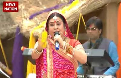 NN Special | Happy Holi: Folk singer Malini Awasthi celebrates the festival of colours with News Nation