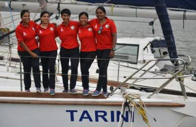 Indian Navy ship, led by all-women crew, reaches Cape Town