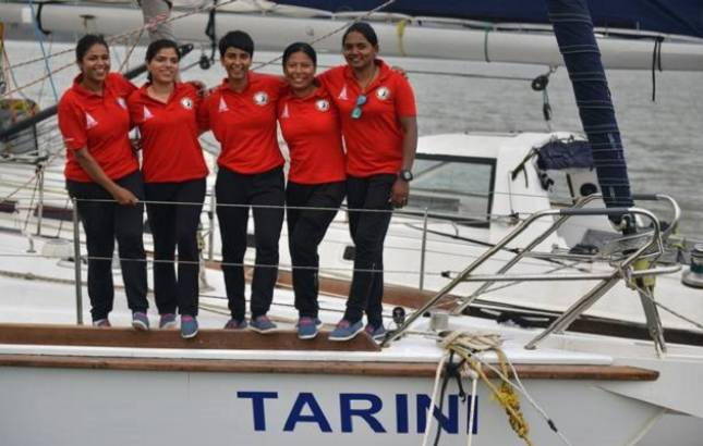 Indian Navy ship, led by all-women crew, reaches Cape Town (File Photo)