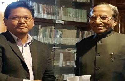 With just 2 seats, BJP to be in power in Meghalaya, largest party Congress falters