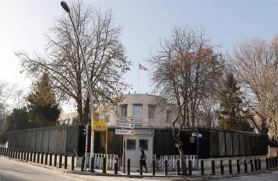 U.S. Embassy in Turkey shut for unspecified 'security threat'