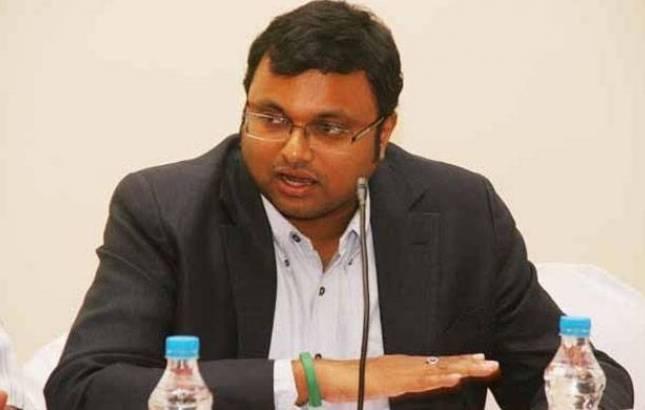 Karti Chidambaram - File Photo