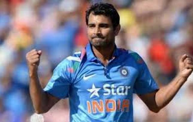 Indian cricketer Mohammed Shami - File Photo