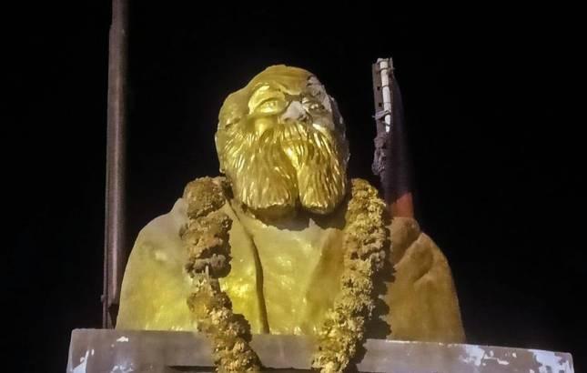 Statue vandalism : 10 Brahmins attacked in Chennai; Assaulters raised slogans 'long live Periyar' (Source : PTI)