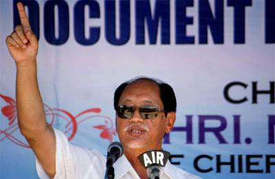 Neiphiu Rio sworn in as Chief Minister of Nagaland; BJP Chief Amit Shah, HM Rajnath Singh attend oath-taking ceremony
