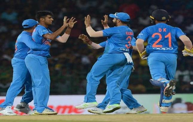 India beat Bangladesh in the second T20 (Image Source: PTI)