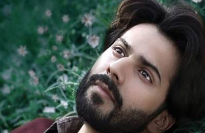 October first poster: Varun Dhawan looks downhearted and melancholic, seems to be lost in thoughts