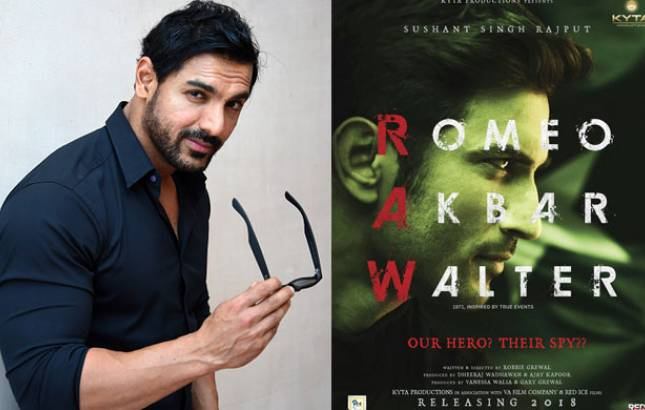 Revealed: THIS is why John Abraham replaced Sushant Singh Rajput in Romeo Akbar Walter