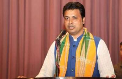 Tripura swearing in ceremony: Biplab Kumar Deb takes oath as Chief Minister; Jishnu Dev Burman becomes his deputy