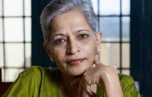 Bengaluri Police makes first arrest in Gauri Lankesh murder case, arrested member of Hindu Yuva Sena (File Photo)