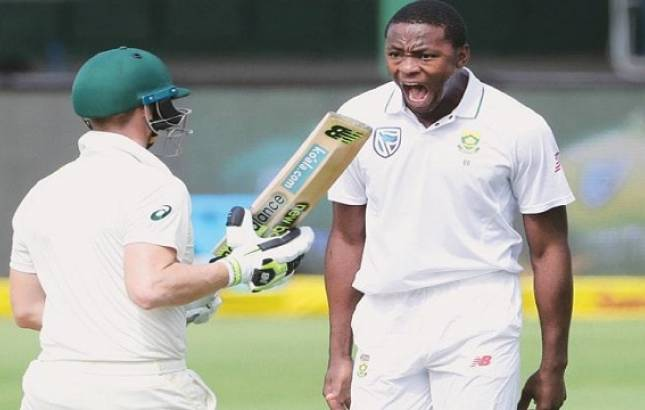 Rabada suspended for the rest of the series against Australia (Image Source: PTI)