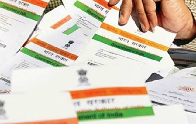 32 crore Aadhaar numbers linked to voter ID cards: CEC (File Photo)