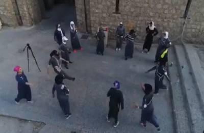 Saudi Arabia: Women exercise their new right to jog on Women's Day