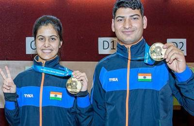 Manu Bhaker ends ISSF World Cup with two gold medals