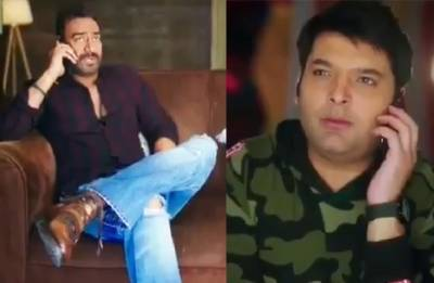 Family Time With Kapil Sharma's new promo out: Ajay Devgn-Kapil Sharma's fun banter is HILARIOUS and will leave you in SPLITS (watch video)