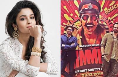 Simmba: NOT Alia Bhatt but THIS 'winking girl' to star opposite Ranveer Singh in Rohit Shetty's film?