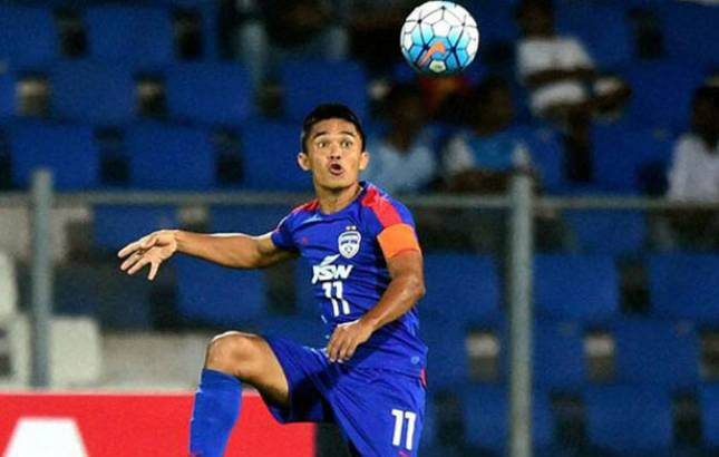 ISL 2018: Sunil Chhetri's hattrick takes Bengaluru FC to finals (Source: PTI)